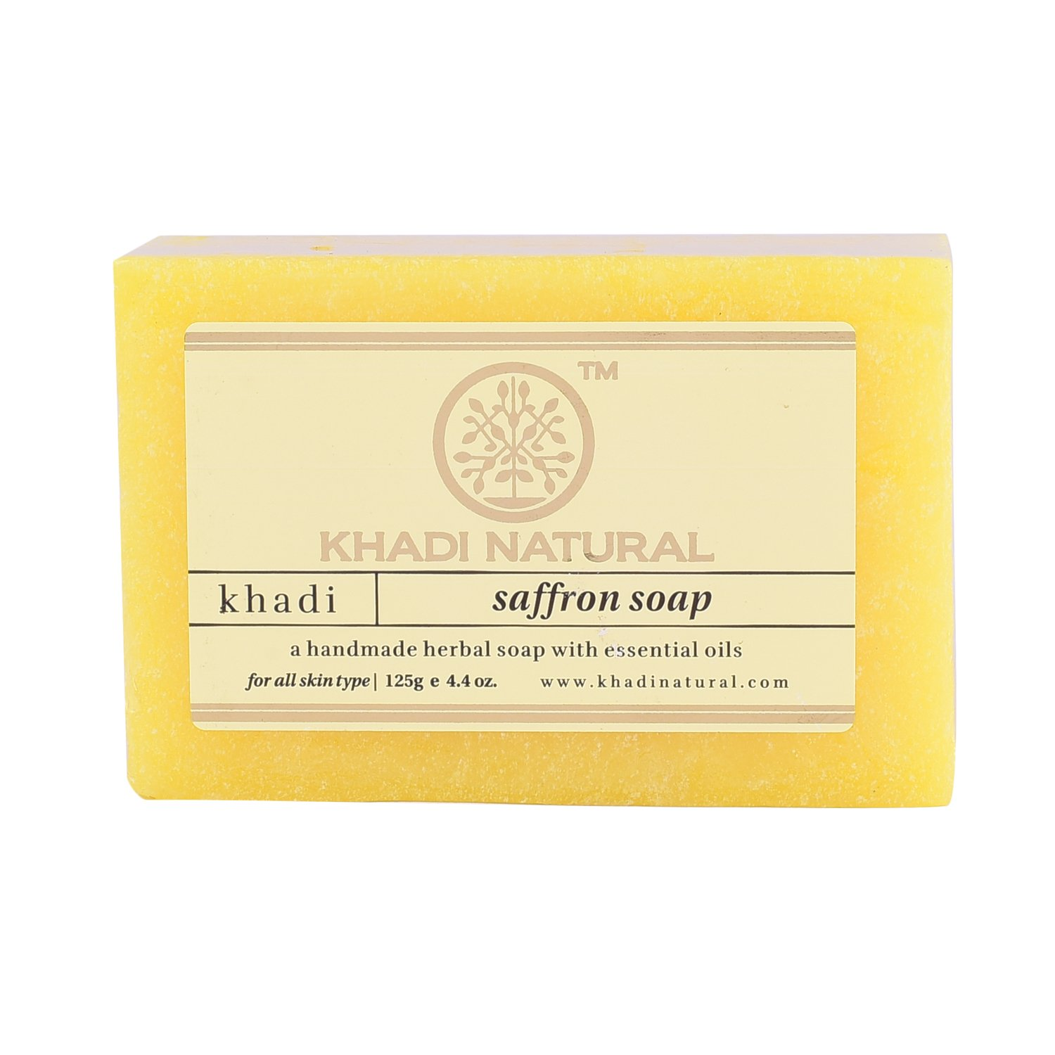 Мыло Saffron Soap Khadi Natural (Мыло Шафран Кхади Натурал) 125гр
