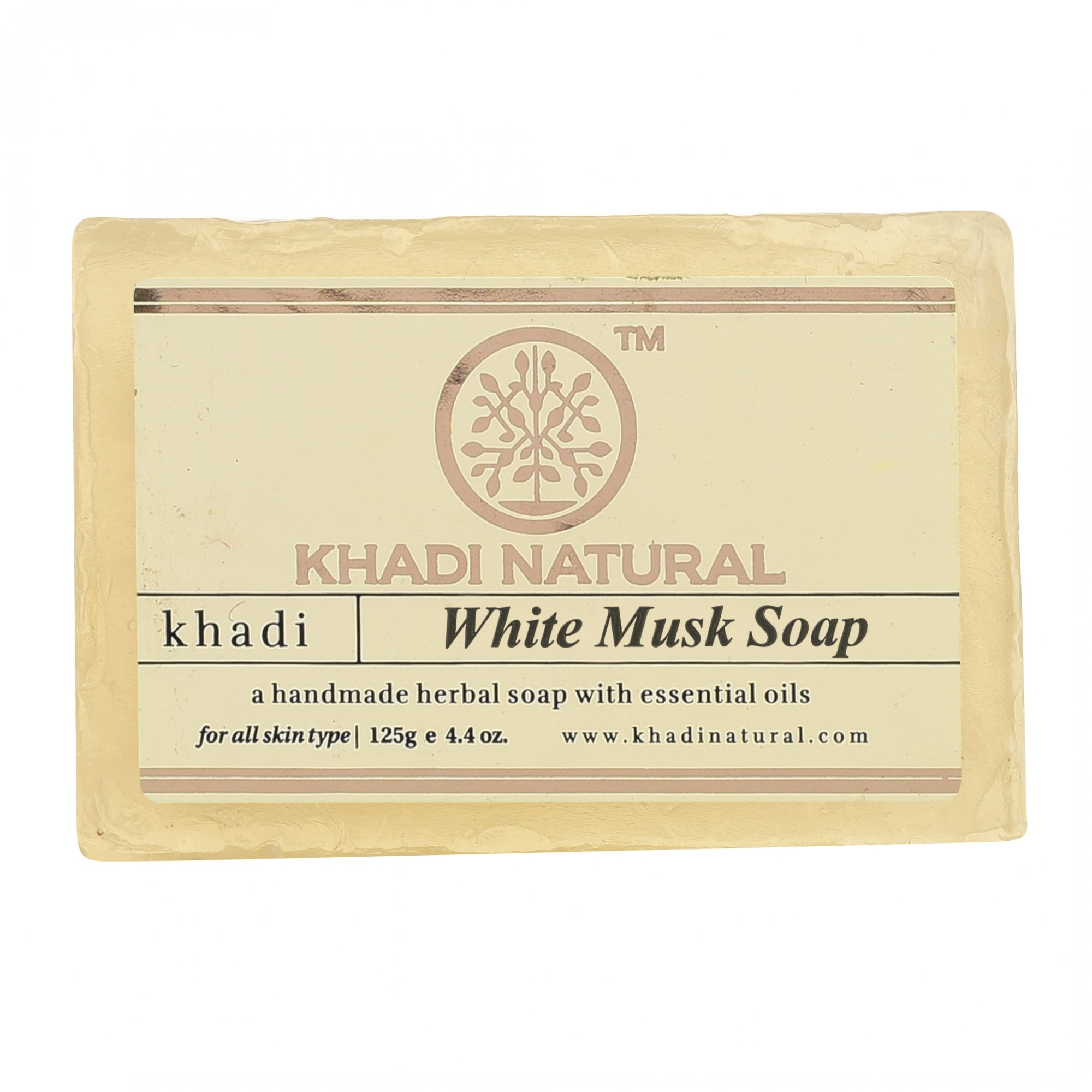 Мыло White Musk Soap Khadi Natural (Мыло Белый Мускус Кхади Натурал) 125гр
