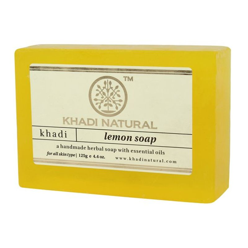 Мыло Lemon Soap Khadi Natural (Мыло Лимон Кхади Натурал) 125гр