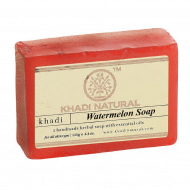 Мыло Watermelon Soap Khadi Natural (Мыло Арбуз Кхади Натурал) 125гр