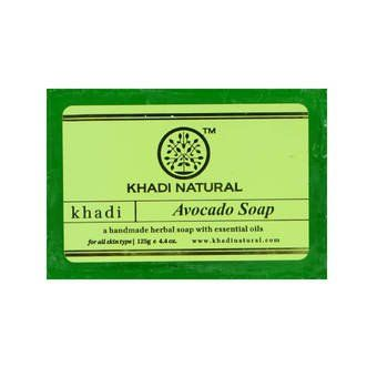 Мыло avocado Soap Khadi Natural (Мыло  авокадо Кхади Натурал) 125гр