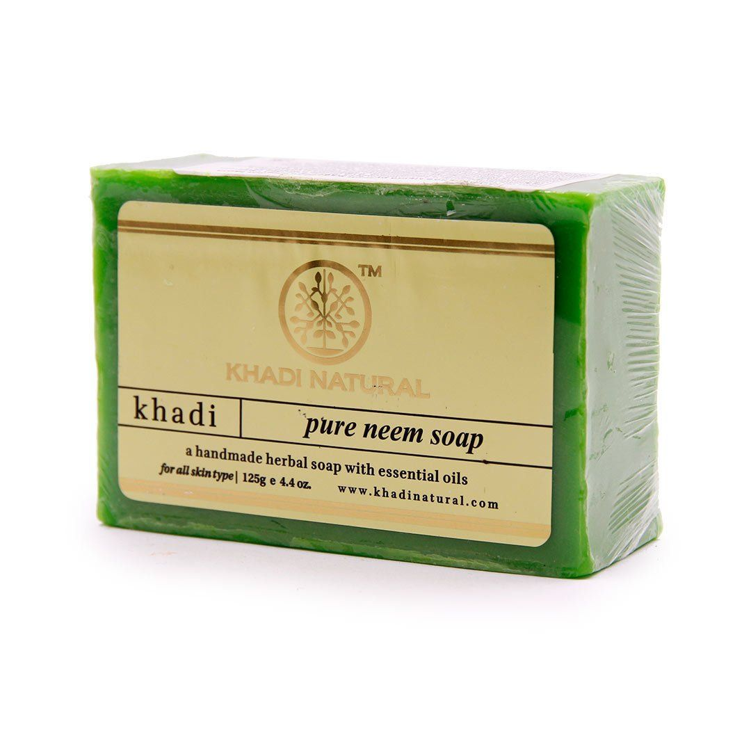 Мыло Pure Neem Soap Khadi Natural (Мыло Ним Кхади Натурал) 125гр