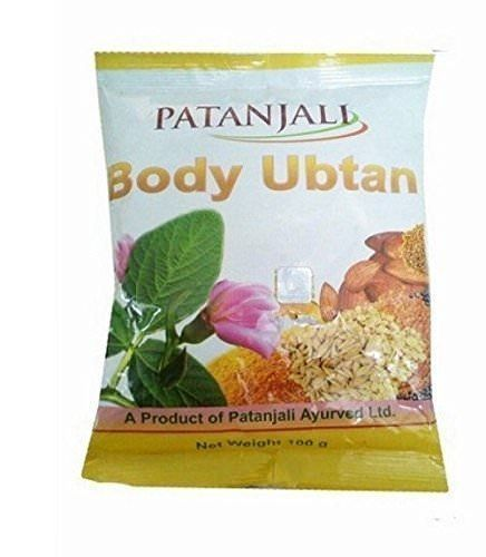 Body Ubtan Herbal Skin Fairness Bathing Powder Patanjali (Скраб  Убтан Патанджали) 100гр