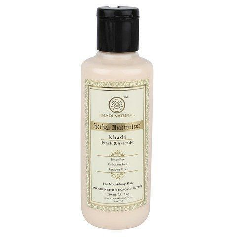 "Крем-лосьон для тела Peach & Avocado herbal moisturizer Khadi (""Персик и Авокадо"" Кхади) 210мл"
