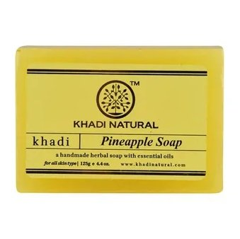 Мыло Pineapple Soap Khadi Natural (Мыло Ананас Кхади Натурал) 125гр
