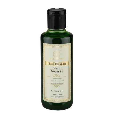 Шампунь Hair Cleanser Neem Sat Khadi (Ним Кхади) 210мл