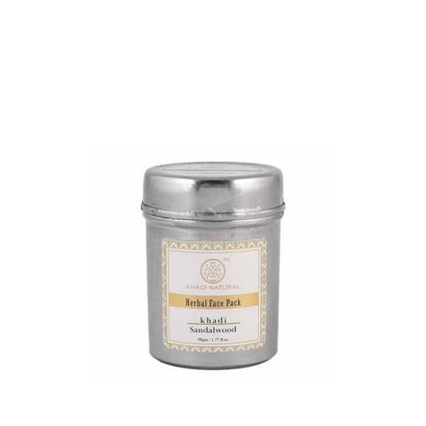 Сандал убтан для лица Sandalwood herbal face mask Khadi (Кхади) 50гр